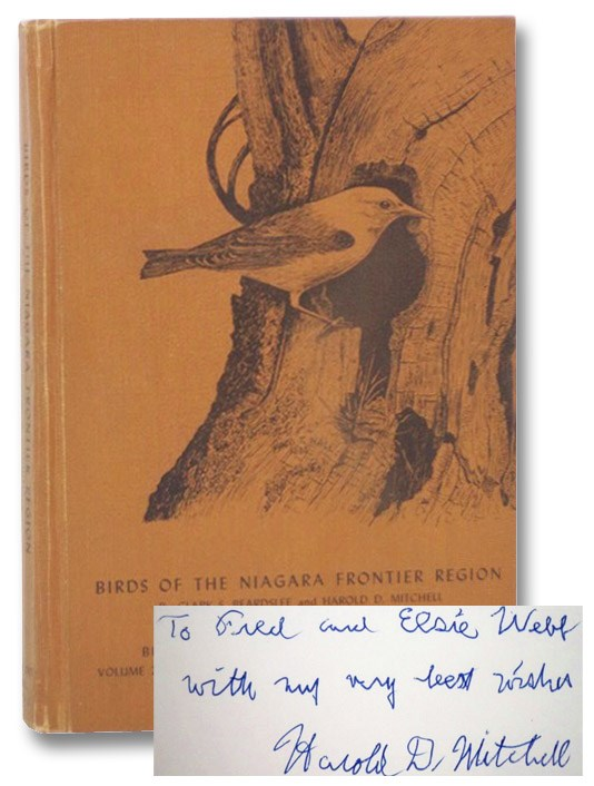 Birds of the Niagara Frontier Region: An Annotated Check-List (Buffalo Society of Natural Sciences, Volume 22), Beardslee, Clark S.; Mitchell, Harold D.