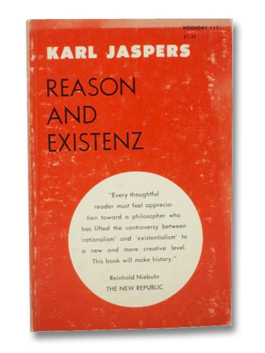 Reason and Existenz: Five Lectures, Jaspers, Karl; Earle, William