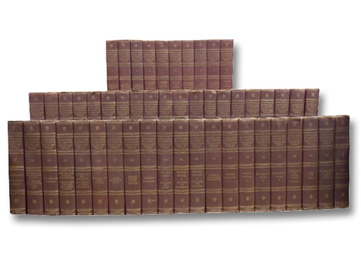Harvard Classics Complete 51 Volume Set: Vols. 1-50 plus Lectures (The Five-Foot Shelf of Books), Eliot, Charles W. (Editor)