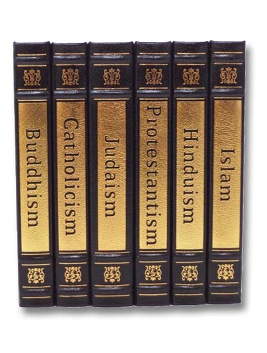 World's Great Religions Six Volume Set: Buddhism; Catholicism; Protestantism; Hinduism; Islam; Judaism, Gard, Richard A.; Brantl, George; Dunstan, J. Leslie; Renou, Louis; Williams, John A.; Hertzberg, Arthur