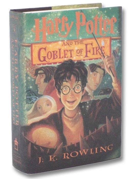Harry Potter and the Goblet of Fire (Year 4 at Hogwarts), Rowling, J.K.