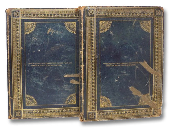 The Works of Thomas Gray, with Memoirs of His Life and Writings, to which are subjoined Extracts Philological, Poetical, and Critical from the Author's Original Manuscripts, in Two Volumes [Large Paper Edition], Gray, Thomas; Mason, William; Mathias, Thomas James
