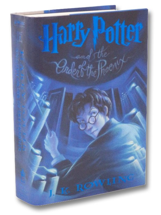 Harry Potter and the Order of the Phoenix (Year 5 at Hogwarts), Rowling, J.K.; Grandpre, Mary