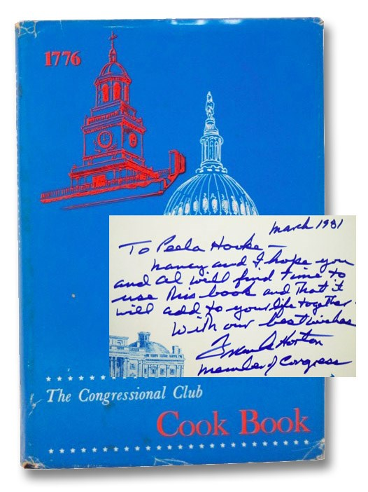 The Congressional Club Cook Book: A Collection of National and International Recipes [Cookbook], The Congressional Club