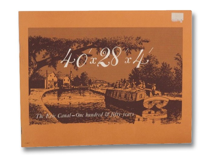40' x 28' x 4': The Erie Canal - 150 Years, Wyld, Lionel D.