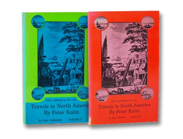 Peter Kalm's Travels in North America: The English Version of 1770 with a Translation of New Material from Kalm's Diary Notes, in Two Volumes (The America of 1750) (Dover Books on Nature), Kalm, Peter [Pehr]; Benson, Adolph B.