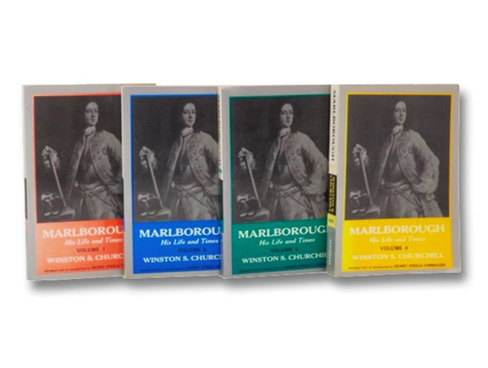 Marlborough: His Life and Times, Complete in Four [4] Volumes, Churchill, Winston S. [Spencer]; Commager, Henry Steele (Introduction)