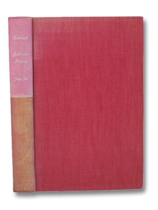 Gentleman's Progress: The Itinerarium of Dr. Alexander Hamilton, 1744, Bridenbaugh, Carl
