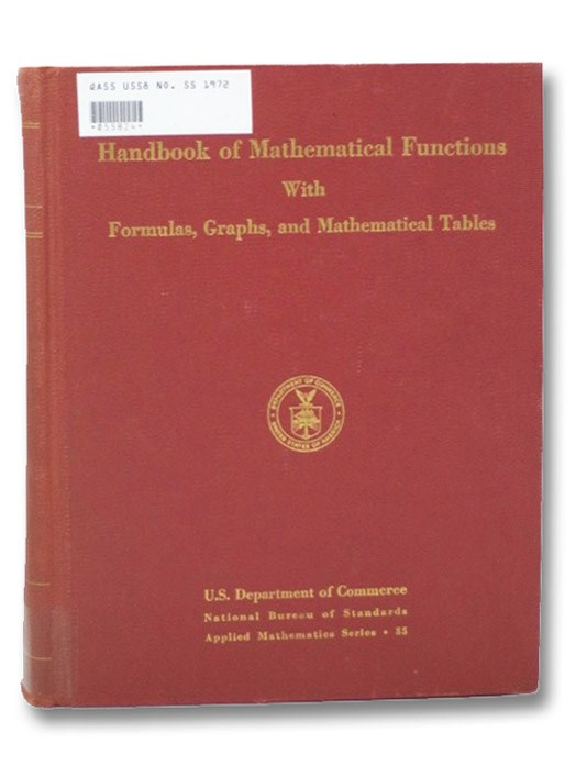 Handbook of Mathematical Functions, U.S. Department of Commerce