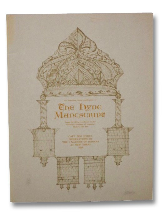 The Hyde Manuscript (American Scene, Vol. VI, No. 2), Hyde, William