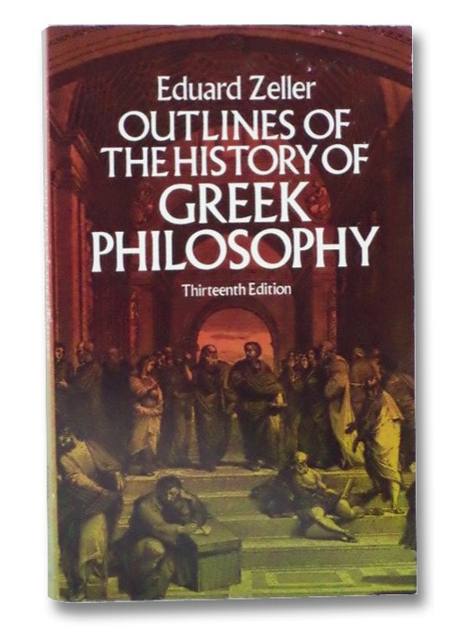 Image for Outlines of the History of Greek Philosophy