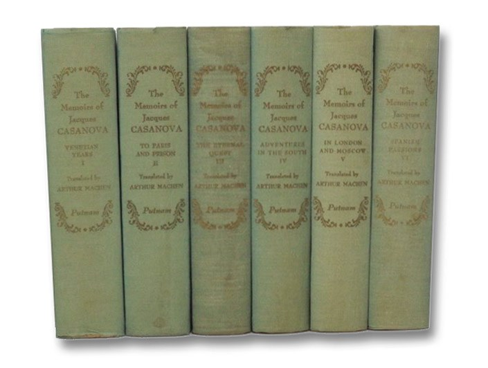 Image for The Memoirs of Jacques Casanova de Seingalt, in Six Volumes: The First Complete and Unabridged English Translation