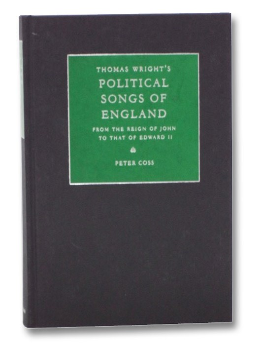 Image for Thomas Wright's Political Songs of England: From the Reign of John to That of Edward II