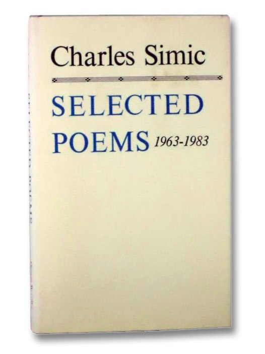 Image for Selected Poems: 1963-1983