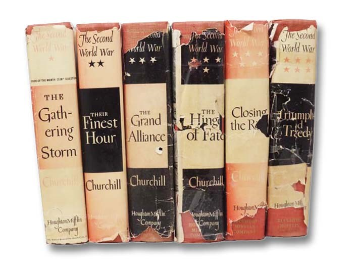 Image for The Second World War Six Volume Set: Their Finest Hour; The Gathering Storm; The Hinge of Fate; The Grand Alliance; Closing the Ring; Triumph and Tragedy