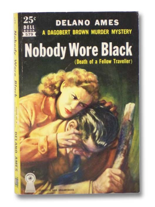 Image for Nobody Wore Black (Dell Mapback No. 579)