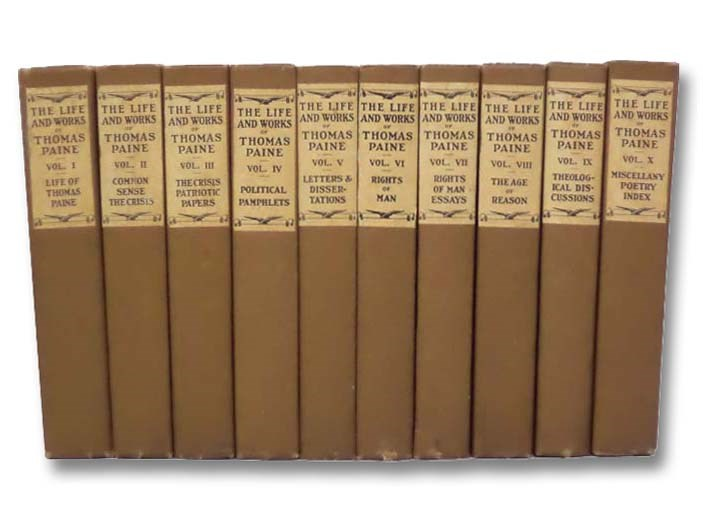 Image for The Life and Works of Thomas Paine, in Ten Volumes (Patriot's Edition)