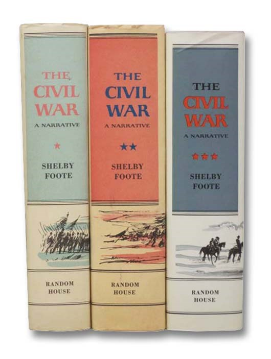 Image for The Civil War: A Narrative, Complete in Three Volumes -- Fort Sumter to Perryville; Fredericksburg to Meridian; Red River to Appomattox