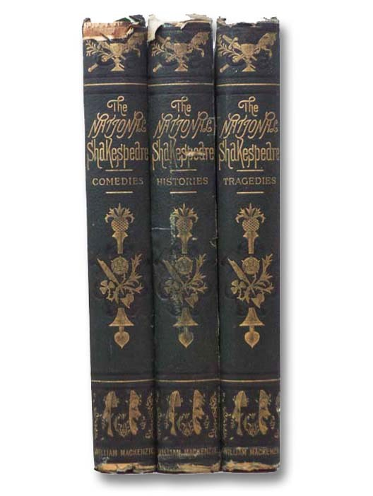 Image for The National Shakespeare, A Fac-simile of the Text of the First Folio of 1623, in Three Volumes: Comedies; Histories; Tragedies [Facsimile]