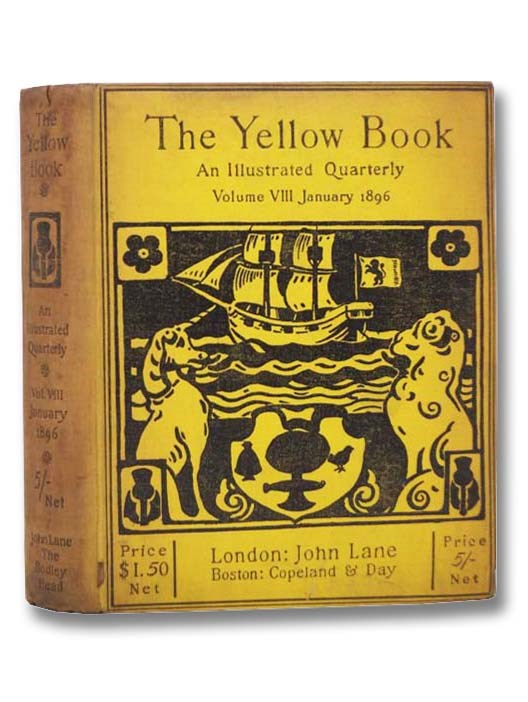 Image for The Yellow Book: An Illustrated Quarterly, Volume VIII [8], January 1896