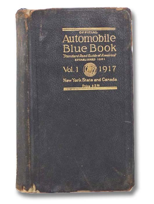 Image for Official Automobile Blue Book, Vol. 1, 1917