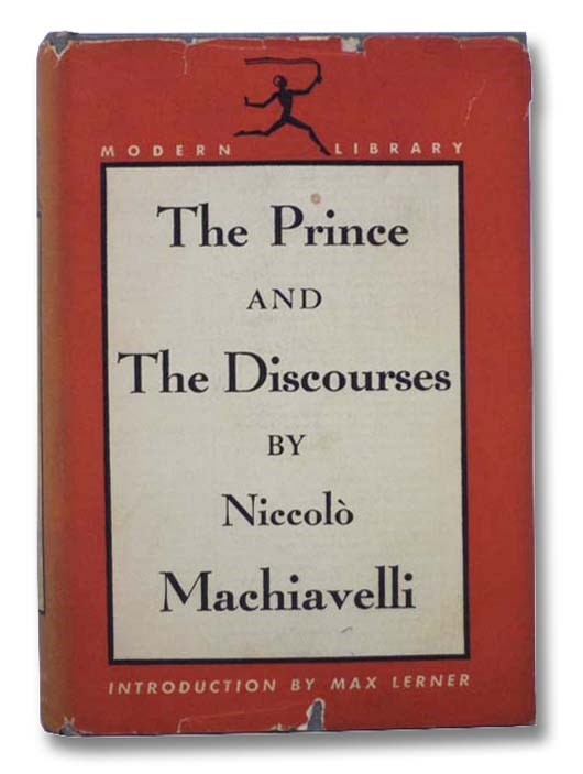 Image for The Prince and The Discourses (The Modern Library of the World's Best Books, ML 65)