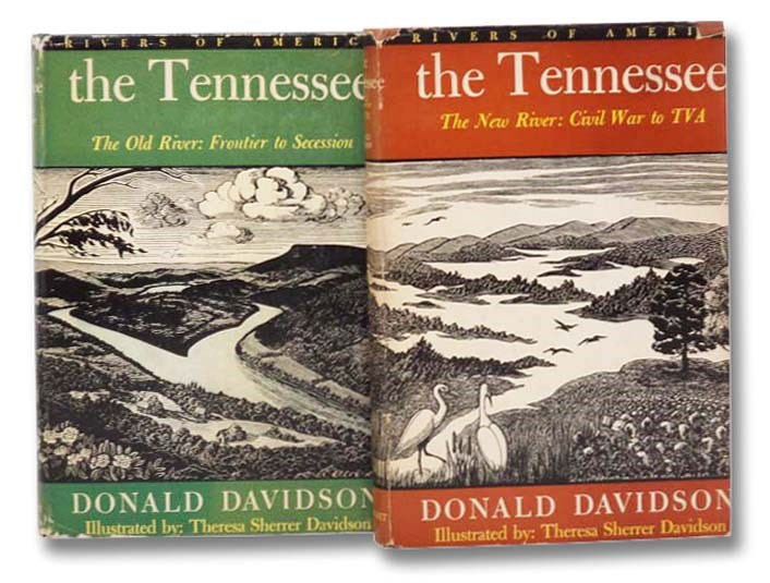 Image for The Tennesee, in Two Volumes: The Old River: Frontier to Secession; The New River: Civil War to TVA (The Rivers of America Series)