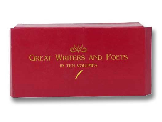 Image for Great Writers and Poets in Ten Volumes: Burns; Byron; Donne; Emily Dickinson; Keats; Longfellow; Shelly; Poe; Walt Whitman; Wordsworth