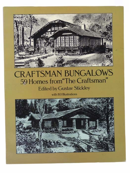 Image for Craftsman Bungalows: 59 Homes from the 'The Craftsman', with 193 Illustrations (Dover Books on Architecture)