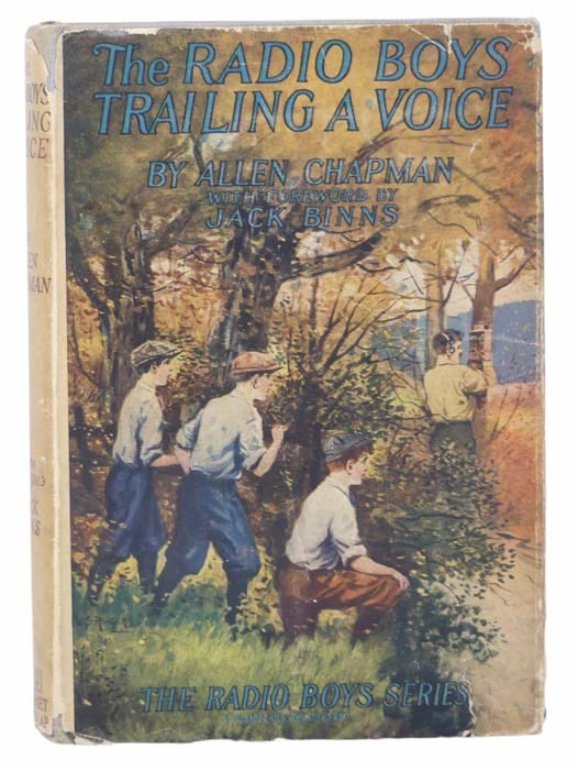 Image for The Radio Boys Trailing a Voice; or, Solving a Wireless Mystery (The Radio Boys Series Book 5)