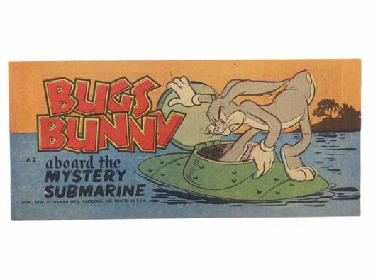 Image for Bugs Bunny Aboard the Mystery Submarine (Warner Bros. Cartoons, Bugs Bunny Comic Books A2)