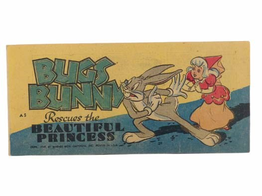 Image for Bugs Bunny Rescues the Beautiful Princess (Warner Bros. Cartoons, Bugs Bunny Comic Books A5)