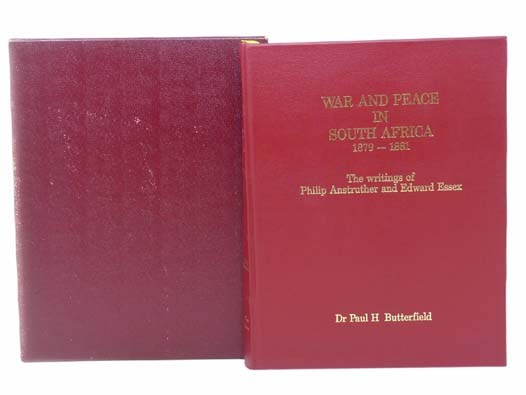 Image for War and Peace in South Africa, 1879-1881: The Writings of Philip Anstruther and Edward Essex