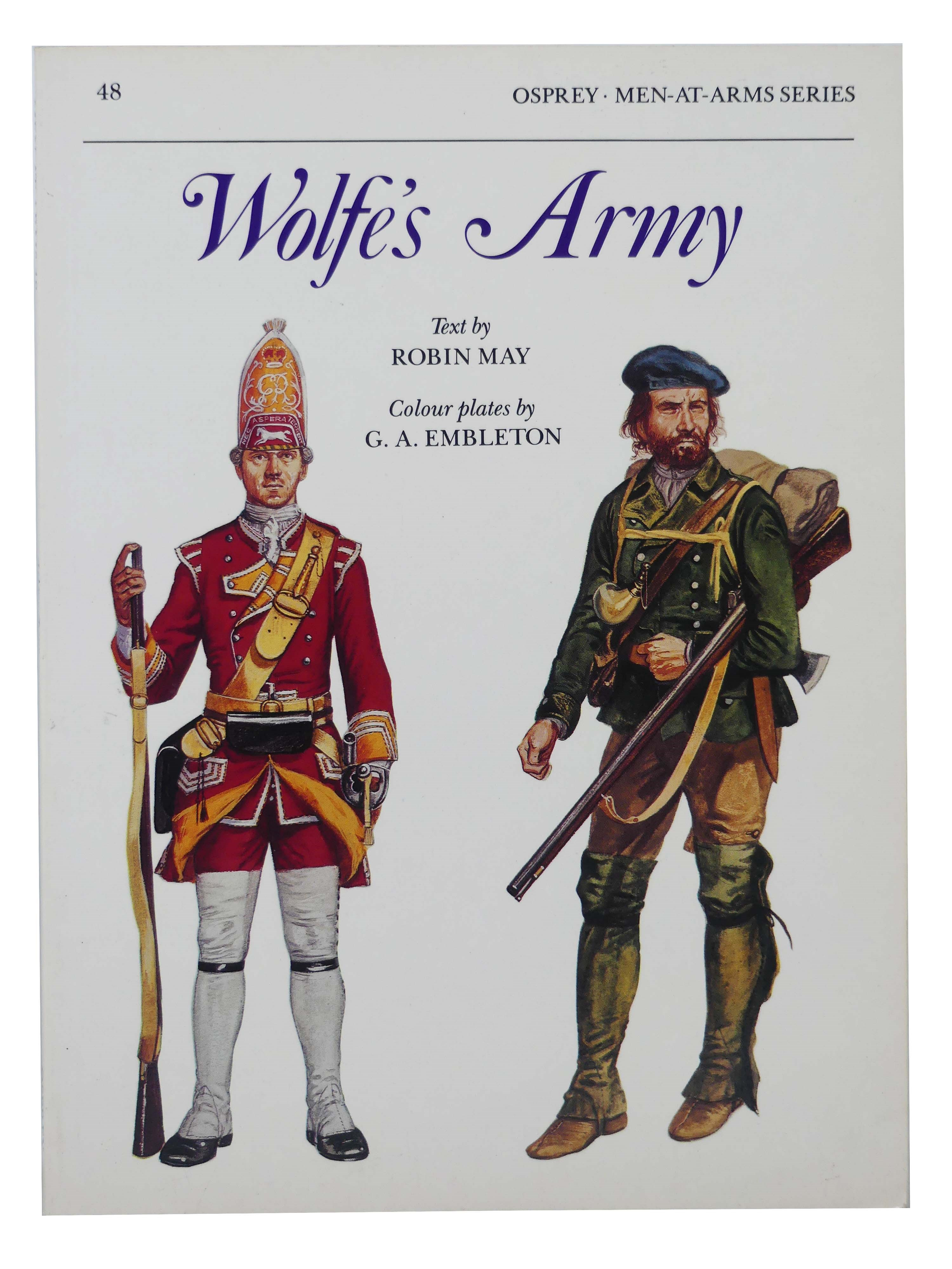 Image for Wolfe's Army (Opsrey Men-At-Arms Series, No. 48)