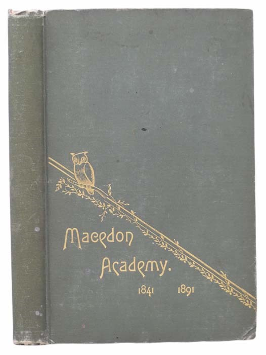 Image for History of Macedon Academy, 1841-1891
