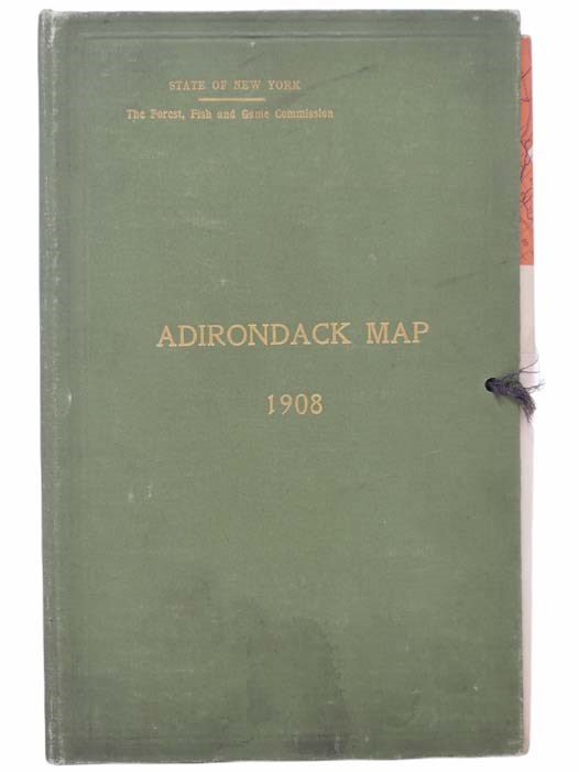Image for Adirondack Map, 1908 (State of New York: Forest, Fish and Game Commission)