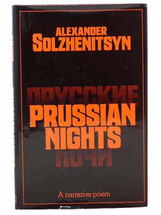 Image for Prussian Nights: A Narrative Poem (Russian and English Text)
