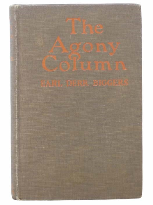 Image for The Agony Column