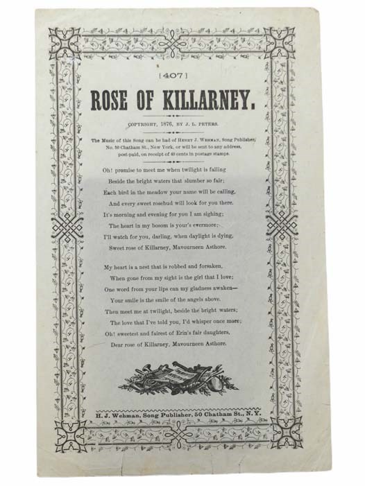 Image for Rose of Killarney
