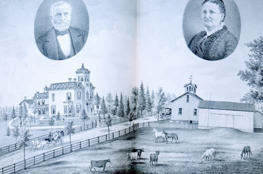 Image for 1786 History of Seneca Co. [County], New York; with Illustrations Descriptive of Its Scenery, Palatial Residences, Public Buildings, Fine Blocks, and Important Manufactories, from Original Sketches by Artists of the Highest Ability.
