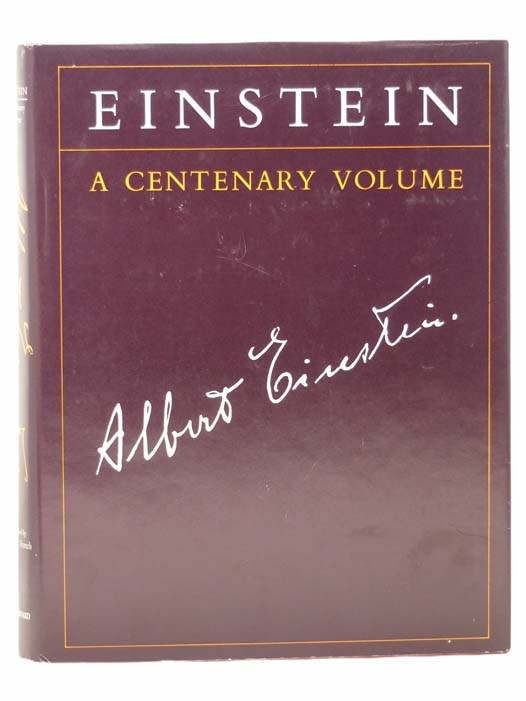 Image for Einstein: A Centenary Volume