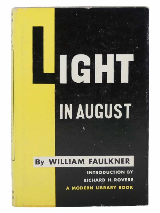 Image for Light in August (The Modern Library of the World's Best Books, ML 88)