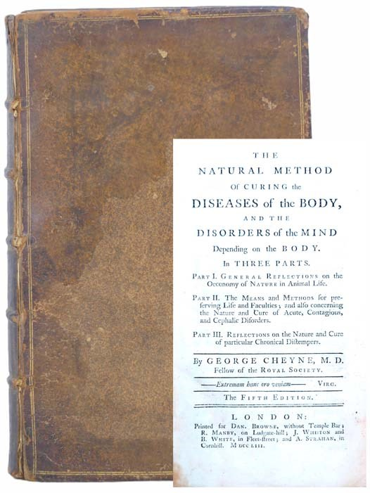 Image for The Natural Method of Curing the Diseases of the Body, and the Disorders of the Mind Depending on the Body. in Three Parts. Part I. General Reflections on the Oeconomy of Nature in Animal Life. Part II. The Means and Methods for Preserving Life and Faculties; and Also Concerning the Nature and Cure of Acute, Contagious, and Cephalic Disorders. Part III. Reflections on the Nature and Cure of Particular Chronical Distempers.