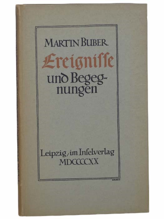 Image for Ereignisse und Begegnungen [Events and Encounters] [GERMAN TEXT]