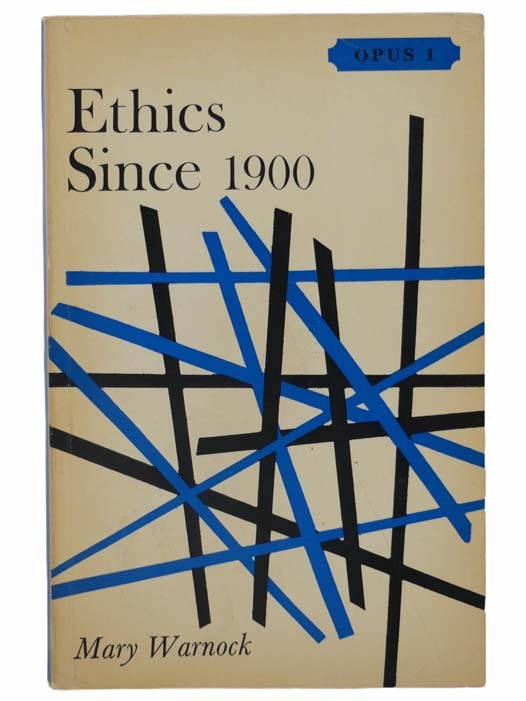 Image for Ethics Since 1900 (Oxford Paperbacks University Series: OPUS 1)
