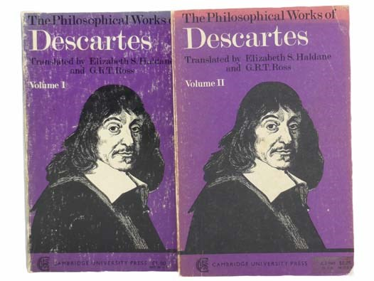 Image for The Philosophical Works of Descartes, in Two Volumes