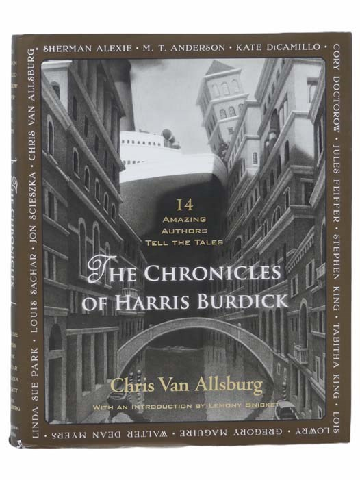 Image for The Chronicles of Harris Burdick: Fourteen Amazing Authors Tell the Tales