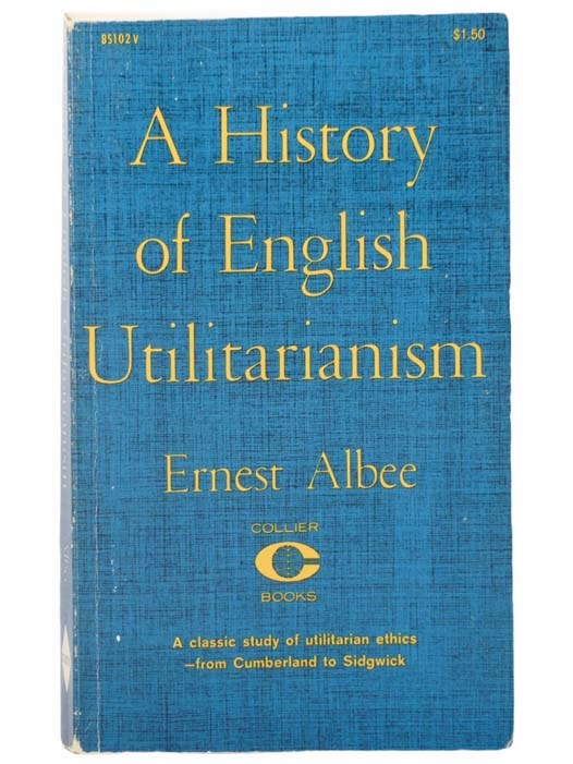 Image for A History of English Utilitarianism