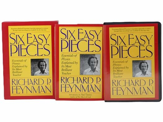Image for Six Easy Pieces: Essentials of Physics Explained by Its Most Brilliant Teacher (Includes 6 CASSETTE TAPES)