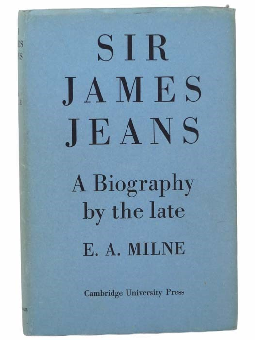Image for Sir James Jeans: A Biography, with a Memoir